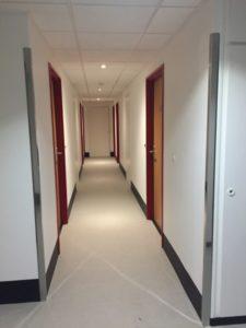 peinture couloir rénovation