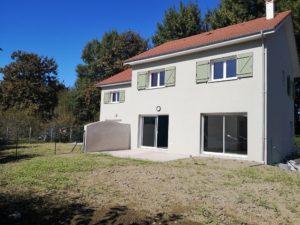 peinture murs extérieurs maison Béarn
